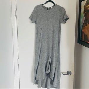 ASOS grey midi dress size 6